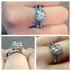 Tacori ring perfection #wedding