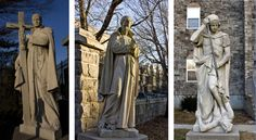 The Saints at St. Michael's Monastery in Union City, NJ