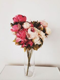 beautiful bouquet of pink peonies Flower Power, My Flower, Peony Flower, Fresh Flowers, Beautiful Flowers, Pink Flowers, Pink Peonies, Arte Floral, Bouquets
