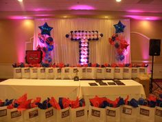 homecoming or banquet decorations