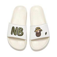 ★New Balance★人気 ユニセックス サンダル Pool Slides, Slippers, Slip On, Sandals, Shoes, Fashion, Moda, Shoes Sandals, Zapatos