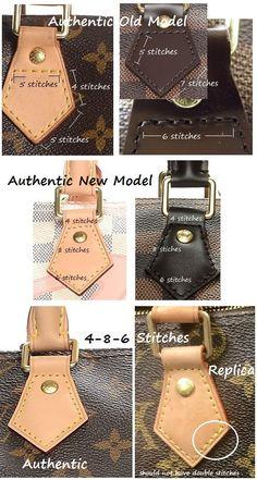 How to Spot a Fake Louis Vuitton Bag 101 ǀ Speedy   Speedy Bandouliere.  Louis Vuitton Vintage BagsGucci HandbagsLouis Vuitton HandbagsPurses ... ac75a28d54583
