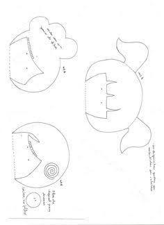 Resultado de imagem para moldes katia callaça