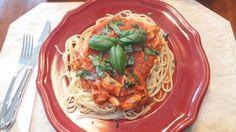 Chicken pasta sauce