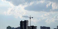 Crane Clouds #Architecture, #Build, #Business, #City, #Clouds, #Construction, #Crane, #Design, #Development, #Engineer, #Equipment, #House, #Industry, #KostProd, #Sky, #Work http://goo.gl/r2QTWL