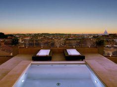 Escape to top vacation spot Hotel Bernini Bristol in Rome, Italy.