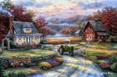 Chuck Pinson, 1978 ~ The Sweet Garden | Romantic Realism painter | Tutt'Art@ | Pittura * Scultura * Poesia * Musica |