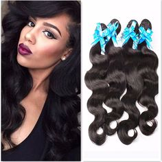 Brazilian Virgin Hair 4 bundles http://mobwizard.com/product/7a-brazilian-virgin-32524170549/