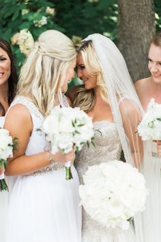Christie + Garrett Summer Wedding   Sister Photo   Tracy Enoch Photography