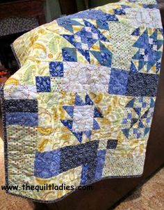 The Quilt Ladies Book Collection: 14th Year of The Quilt Ladies SALE and July Quilt Block of the MONTH !