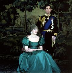 Prince Charles  Lady Diana Spencer 1981 - engagement photo