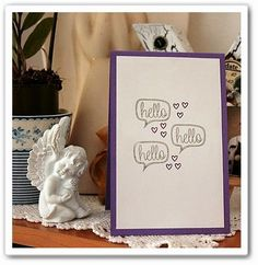 Card by Yvonne Ecker Place Cards, Place Card Holders, In This Moment, Photo And Video, Free