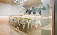 Wink Office by Stone Designs, Madrid (Spain) 2014 #wink #StoneDesigns #ginkgo #office #design