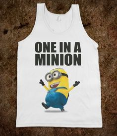 Are you ONE IN A MINION?!