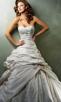 Maggie Sottero Sabelle: buy this dress for a fraction of the salon price on PreOwnedWeddingDresses.com