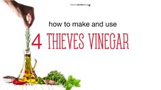 Magical Recipies Online | How to Make and Use Four Thieves Vinegar
