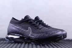 2bf1d915adc35 Best Quality Nike Air VaporMax 2018 Size US 7 9 Triple Black Popular  Sneakers
