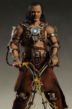 Iron Man Whiplash 1/6th action figure by Hot Toys