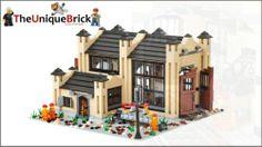 Lego Custom Train Engine Shed- Instructions Manual [town city station repair] | eBay