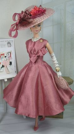 Weathered+Rose+for+Silkstone+Barbie+and+by+MatisseFashions+on+Etsy