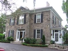 Grey House from The Good Witch series (foxbar house hamilton ontario)