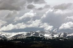 "Teton Storm from the post, ""Three Reflections"" 