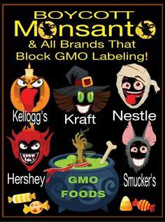 Halloween #Monsanto Boycott @rosevine3