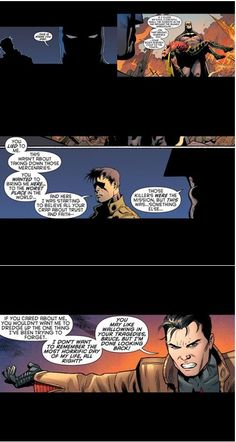 I think this is one of the harshest things Batman ever did, I know it was to try and bring Robin back to life but still. Xx