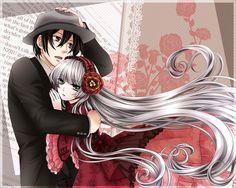 My love for anime Anime Couples Manga, Manga Anime, Gosick Victorique, Chibi, Beautiful Anime Girl, Vocaloid, Fan Art, My Love, Cute
