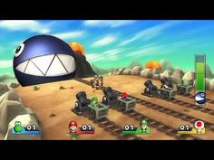 Mario Party 9 - Every Boss Battle Minigame