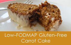 Low-FODMAP Gluten-Free Carrot Cake