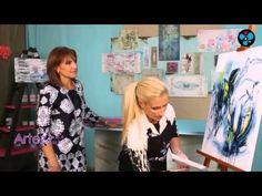 (6) Abstracción con paleta fría | Nora Pareja en Artez TV - YouTube