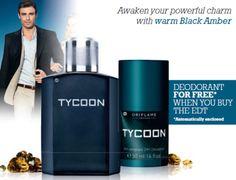 Tycoon Eau de Toilette & Free Deoderant - Tycoon - Men fragrances/ EDT - Shop for Oriflame Sweden - Oriflame cosmetics –UK & Ireland - Tycoon Eau de Toilette & Free Deoderant |orinet/mens fragrance