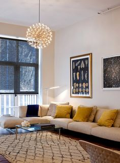 Source: NY Times  Moooi Raimond pendant light. Stunning in reality!
