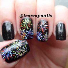 new year by iroxmynails #nail #nails #nailart