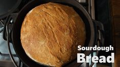 Sourdough bread is a bread made with sourdough starter, salt, water and flour. There is nothing better than make your own sourdough bread at home. My Recipes, Bread Recipes, Different Types Of Bread, Sourdough Bread, How To Make Bread, Cornbread, Homemade, Ethnic Recipes, Breads