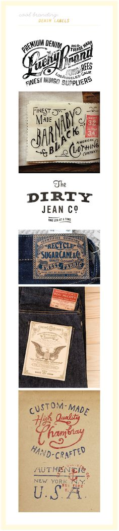Denim Labels