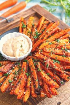 #Easter #dinner #ideas #parmesan #roasted Parmesan Roasted Carrot Friesbrp classfirstletterOur page has been carefully invent for you  Scroll down for more different easter dinner ideas useful TopicpIt is one of the top quality photographs that can be presented with this vivid and remarkable Pictures carrotblockquoteThe Pictures named Parmesan Roasted Carrot Fries is one of the better seductively figures on our plate The width of 533 and height 800 of this image has been set up and presented… Dinner Recipes Easy Quick, Vegetarian Recipes Easy, Healthy Breakfast Recipes, Quick Easy Meals, Snack Recipes, Recipes Dinner, Dinner Healthy, Health Recipes, Easter Recipes