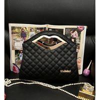 Hand Bag Bibir ( Black )
