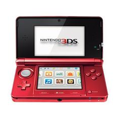 New Nintendo 3DS - Flame Red : I had this before and it was awesome. #clicktobuyitnow #checkoutcxreviews #iheartnintendo