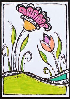 Inspired By Joanne Finks Book Zenspirations Letters Patterning