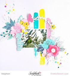"""Lust auf einen neuen """"Sketch des Monats""""? Dann schaut doch mal in der Inspirationsgalerie der @scrapbookwerkstatt vorbei. Die liebe @ankekramer hat sich einen ganz wundervollen Sketch überlegt, den meine Designteam-Kolleginnen ebenso wundervoll umgesetzt haben. Ich habe für mein Layout mal wieder die Acrylfarben herausgeholt sowie einige Blumenembellies aus der @cratepaper """"Flourish"""" Serie verwendet und das ganze mit einer zarten Cutfile ergänzt.    #scrapbookwerkstatt #sbwdesignteam #s..."""