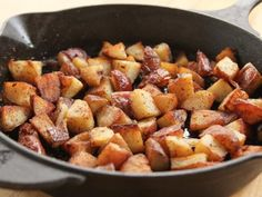 Get Crispy Bits Breakfast Potatoes Recipe from Food Network