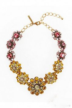 Oscar De La Renta Jewelry Fall/ Winter 2012/ 2013 Collection