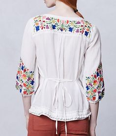 Mexican Embroidery Back