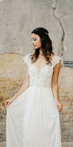 Chic Bridal Dresses: Styles And Silhouettes ❤ See more: http://www.weddingforward.com/bridal-dresses/ #weddingforward #bride #bridal #wedding