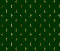 Fleur de Lis 2010 - marine gold fabric by glimmericks on Spoonflower - custom fabric Purple And Gold Wallpaper, Gold Wallpaper Border, Purple Gold, Green And Gold, Rome Exhibition, Marine Gold, Navy Fabric, Spoonflower Fabric, Custom Fabric