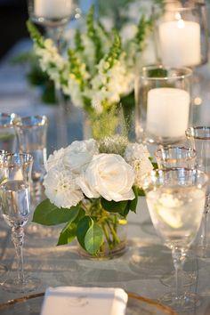 Featured photographer: Robert and Kathleen Photography; Wedding reception centerpiece idea