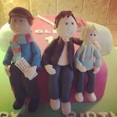 West ham West Ham, Smurfs, Cake Decorating, Football, Cakes, Birthday, Fictional Characters, Soccer, Futbol