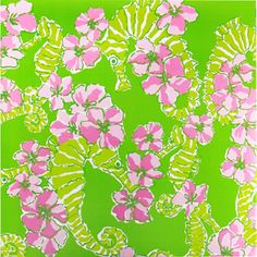 lilly cocktail napkins